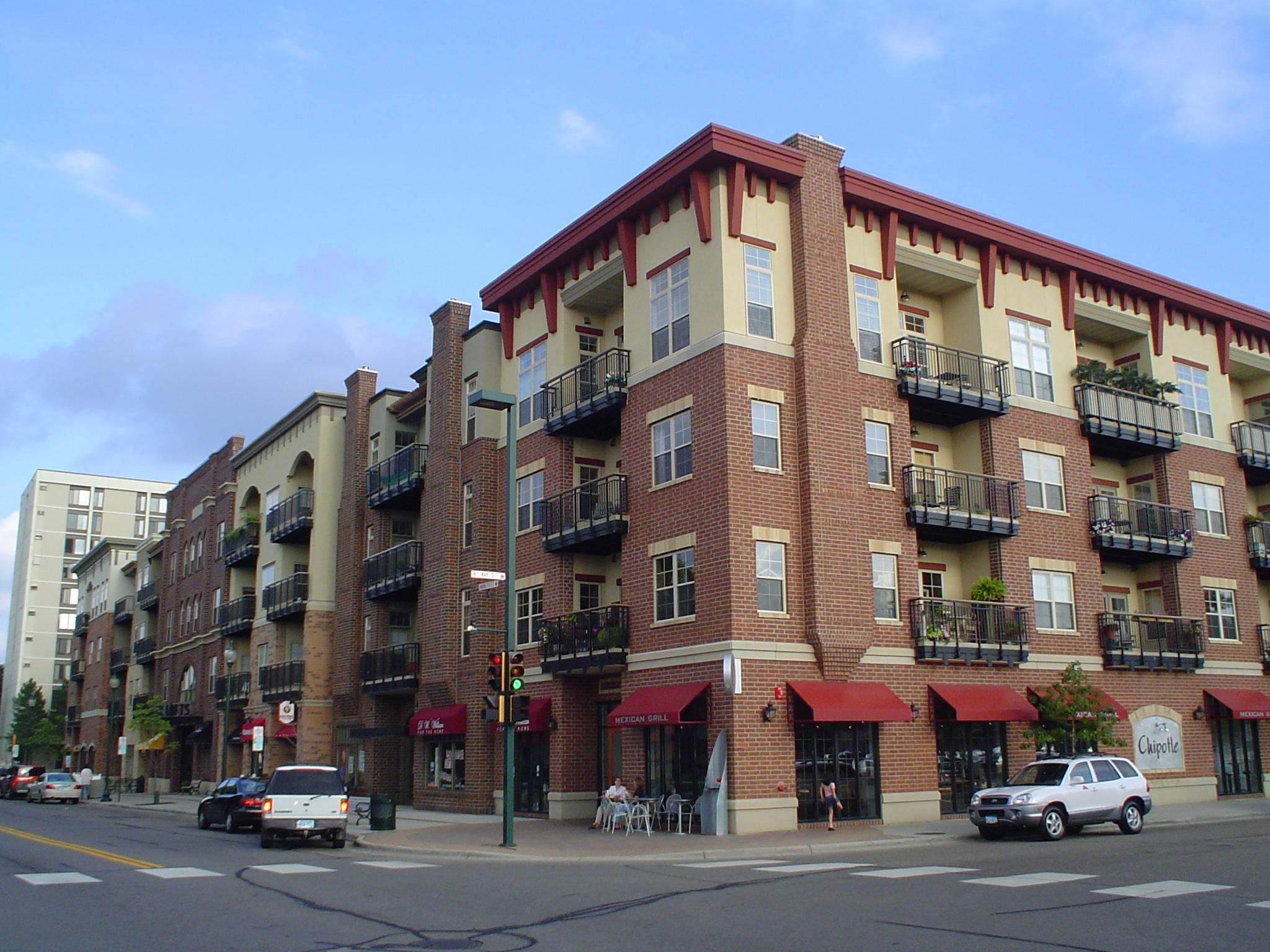 Marketplace lofts in Hopkins